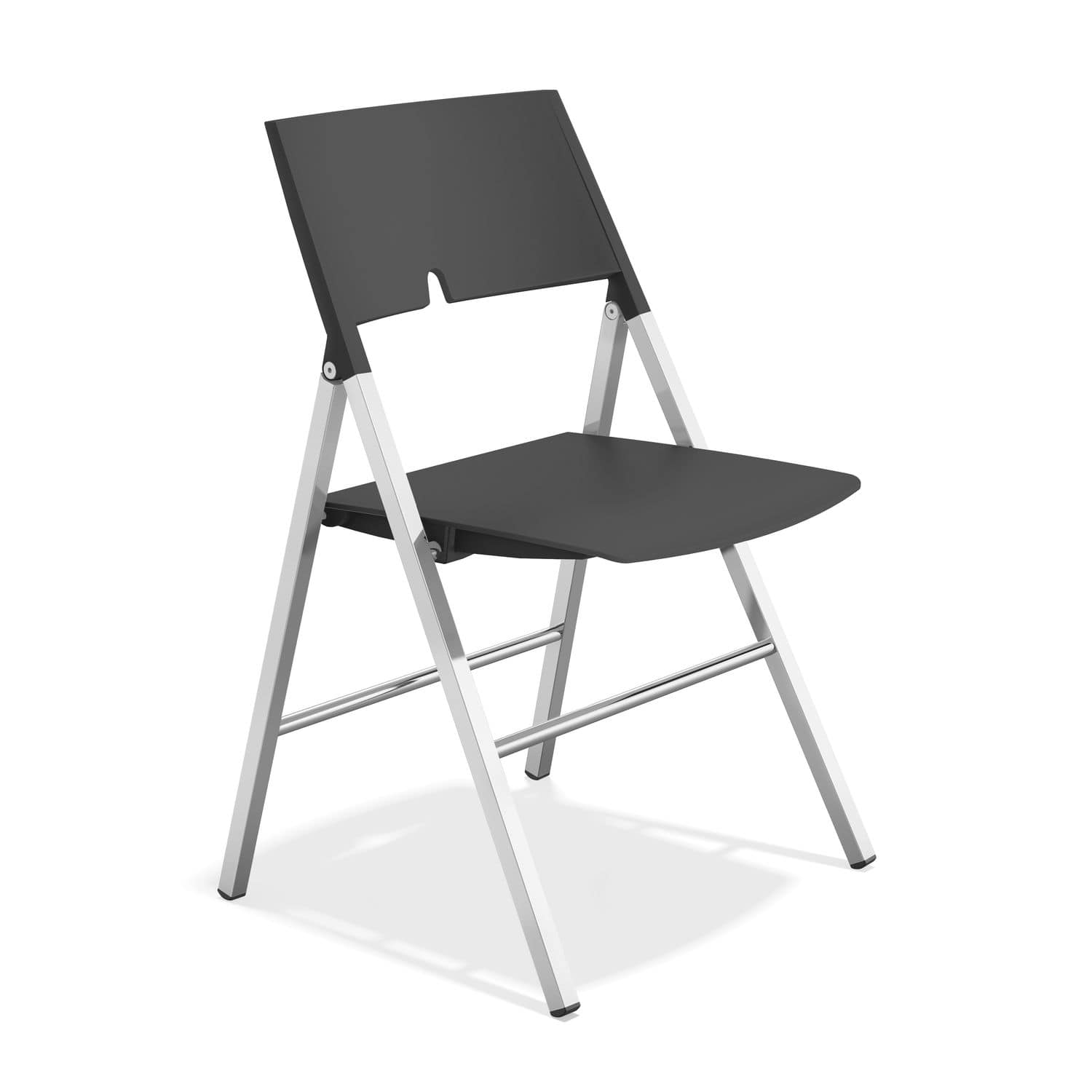 Contemporary visitor chair folding plastic AXA by Giancarlo