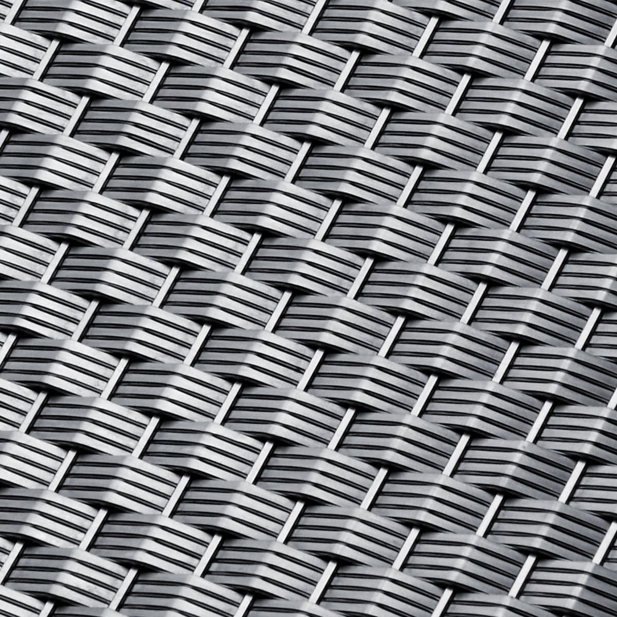 Interior woven wire fabric / for floors / stainless steel / tight ...