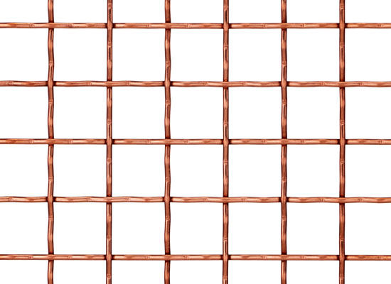 Railing woven wire fabric / stainless steel / aluminum / brass - I ...