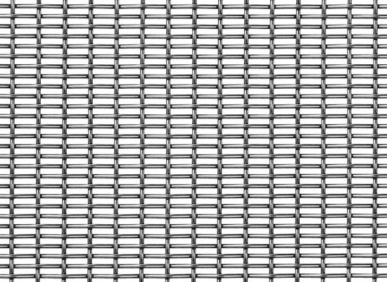 Ceiling woven wire fabric / stainless steel / tight mesh - PZ-7 ...