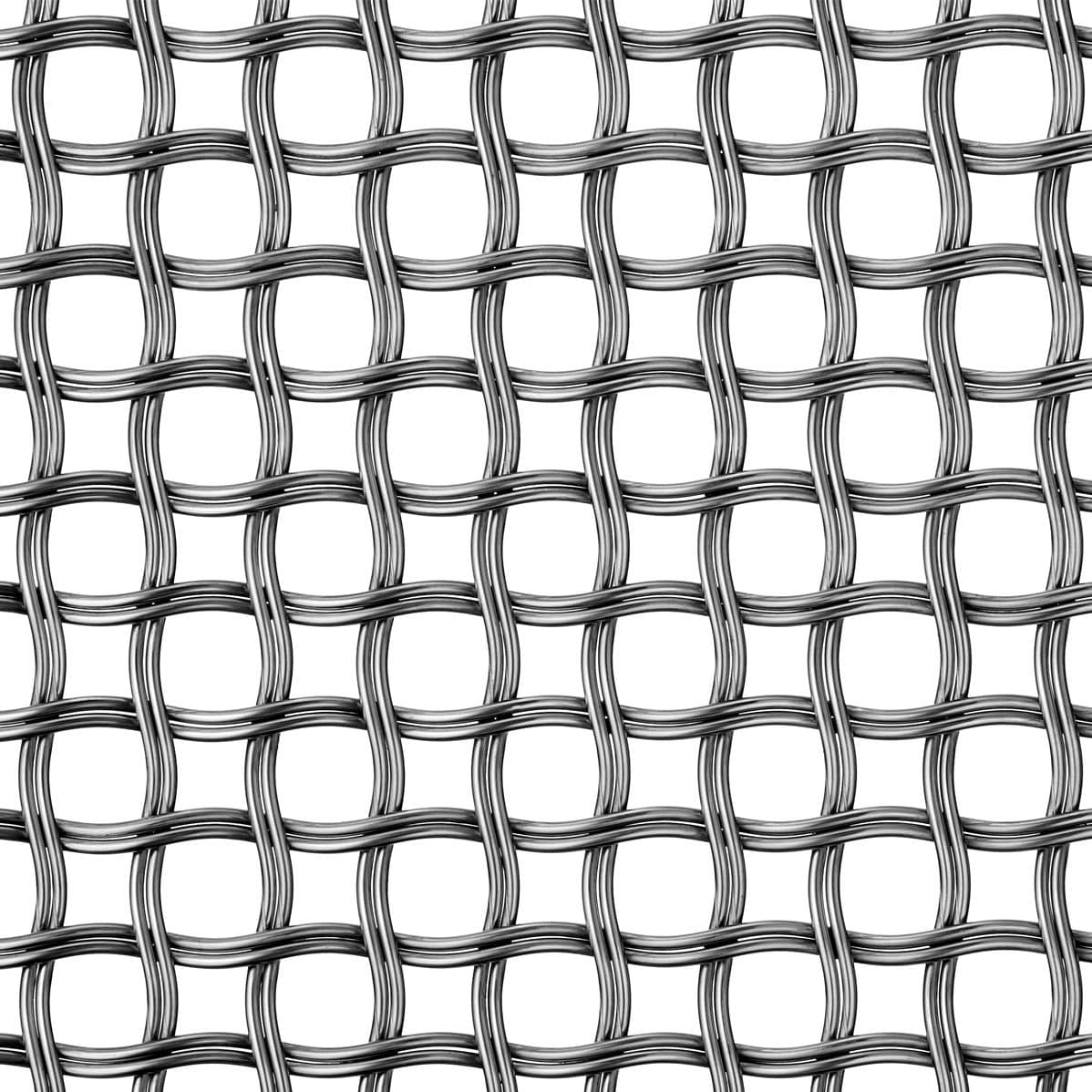 Partition wall woven wire fabric / railing / for walls / stainless ...