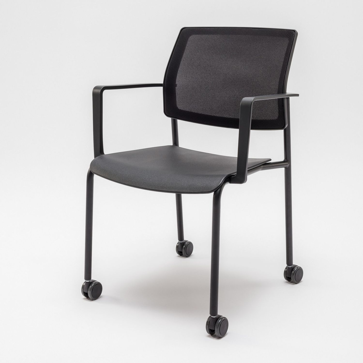 Conference Chair With Armrests / Upholstered / Ergonomic / On Casters    GAYA K