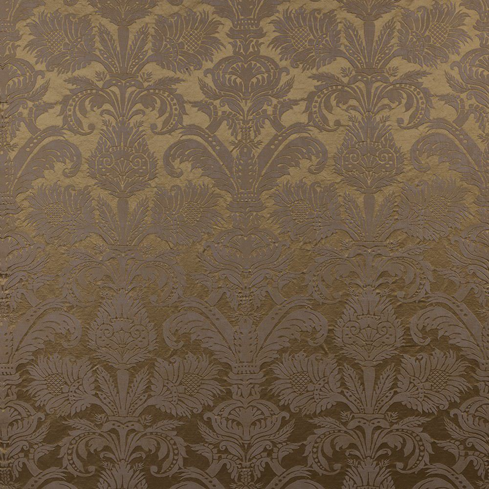 Curtain fabric / upholstery / monochrome / patterned - PURE DAMASK ...