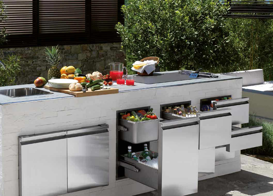 garden kitchen drawer - Garden Kitchen