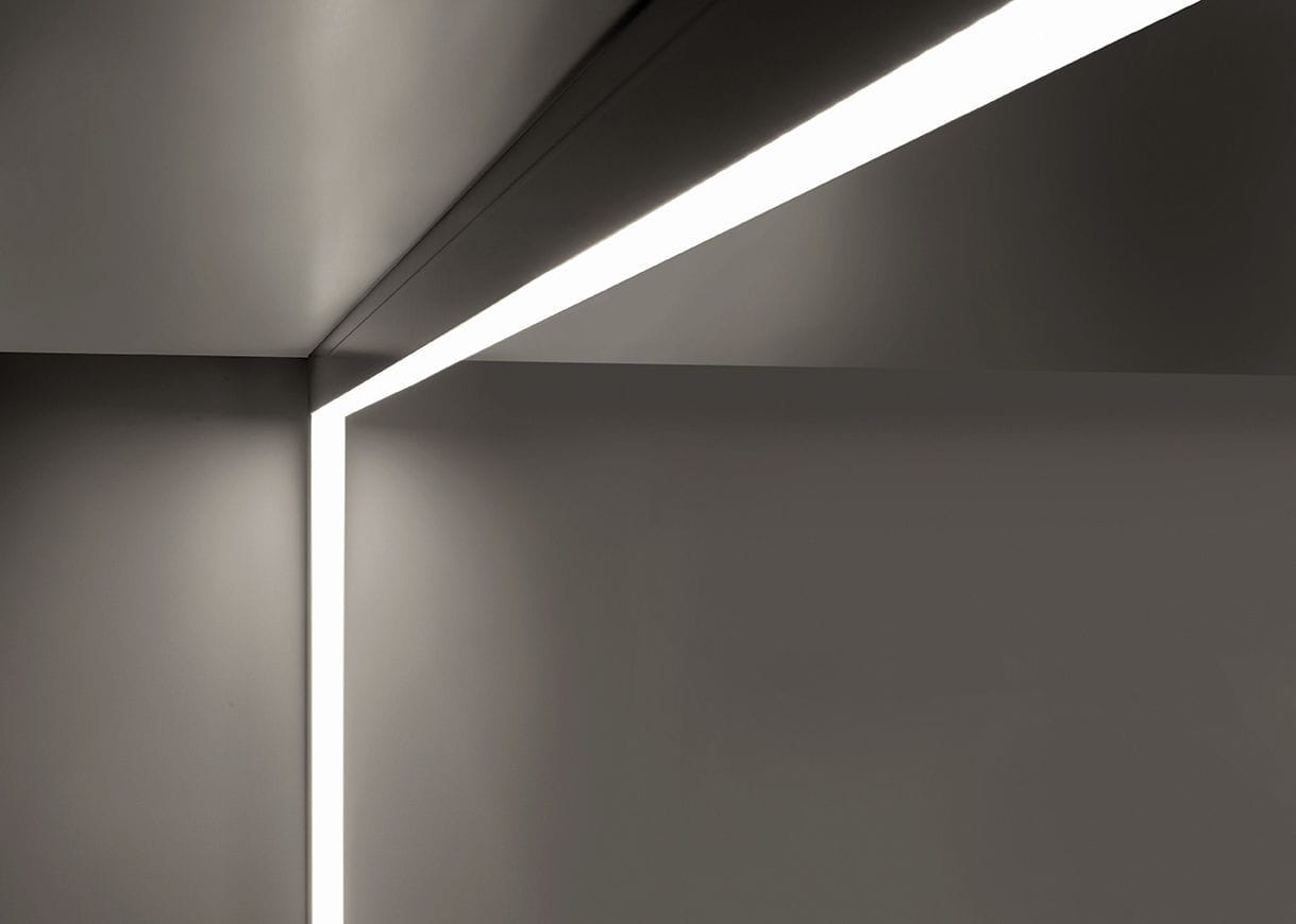 Surface Mounted Light Fixture / LED / Linear / Aluminum RAIL SISTEMA 4580  4581 Egoluce ...
