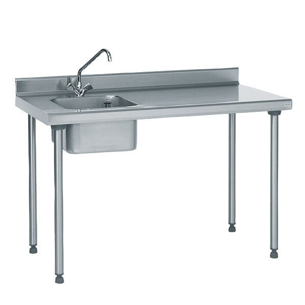 stainless steel prep table / with sink - 804 851 - tournus - videos