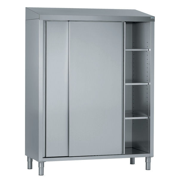 stainless steel storage cabinet for kitchen / commercial - tournus