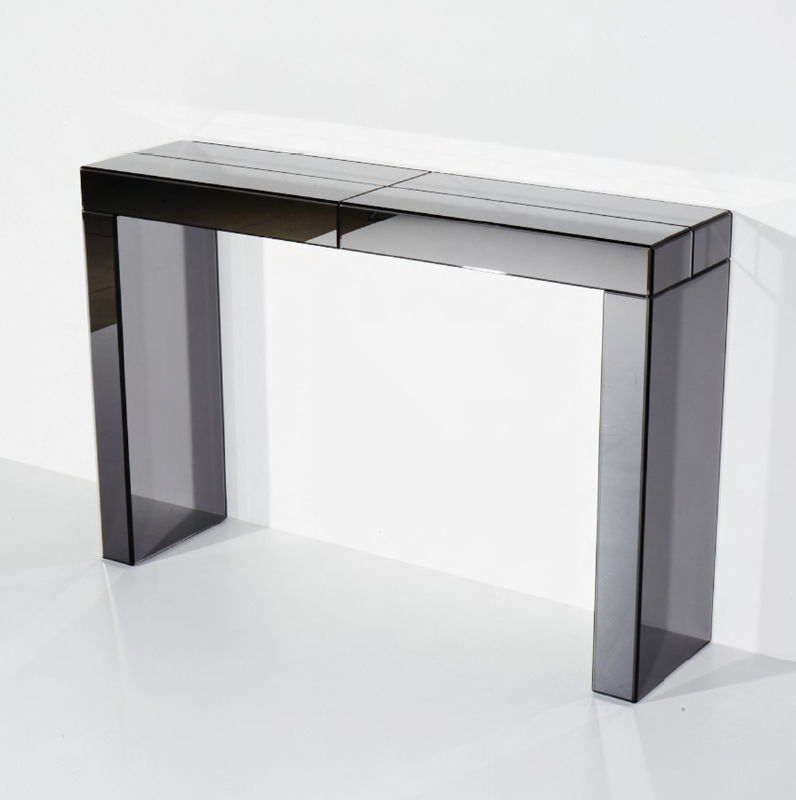 Contemporary sideboard table / glass / rectangular - THOT - Contemporary Sideboard Table / Glass / Rectangular - THOT - VB Glass
