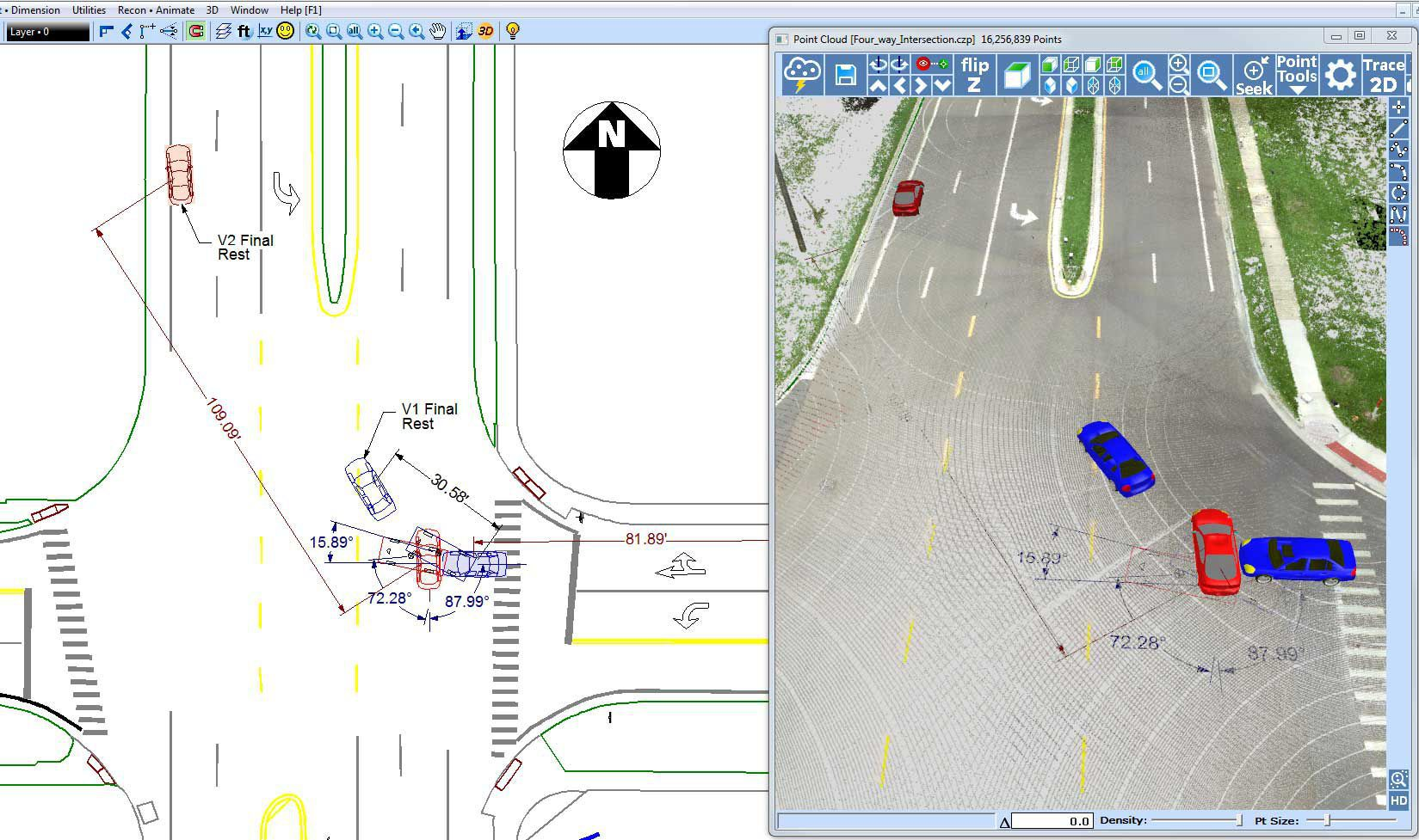 CAD software / drawing / 3D / 2D - ZONE - faro