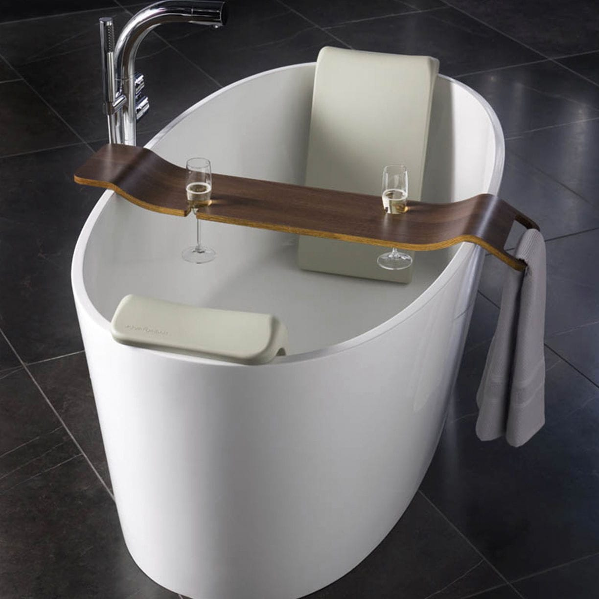 Bathtub backrest headrest - Bathroom Backrest Luxury