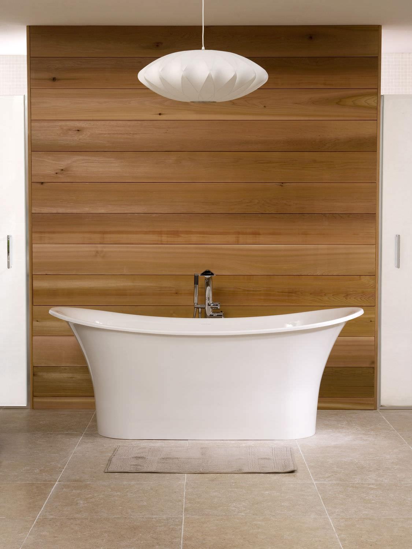 Freestanding bathtub / oval / resin / limestone - TOULOUSE ...