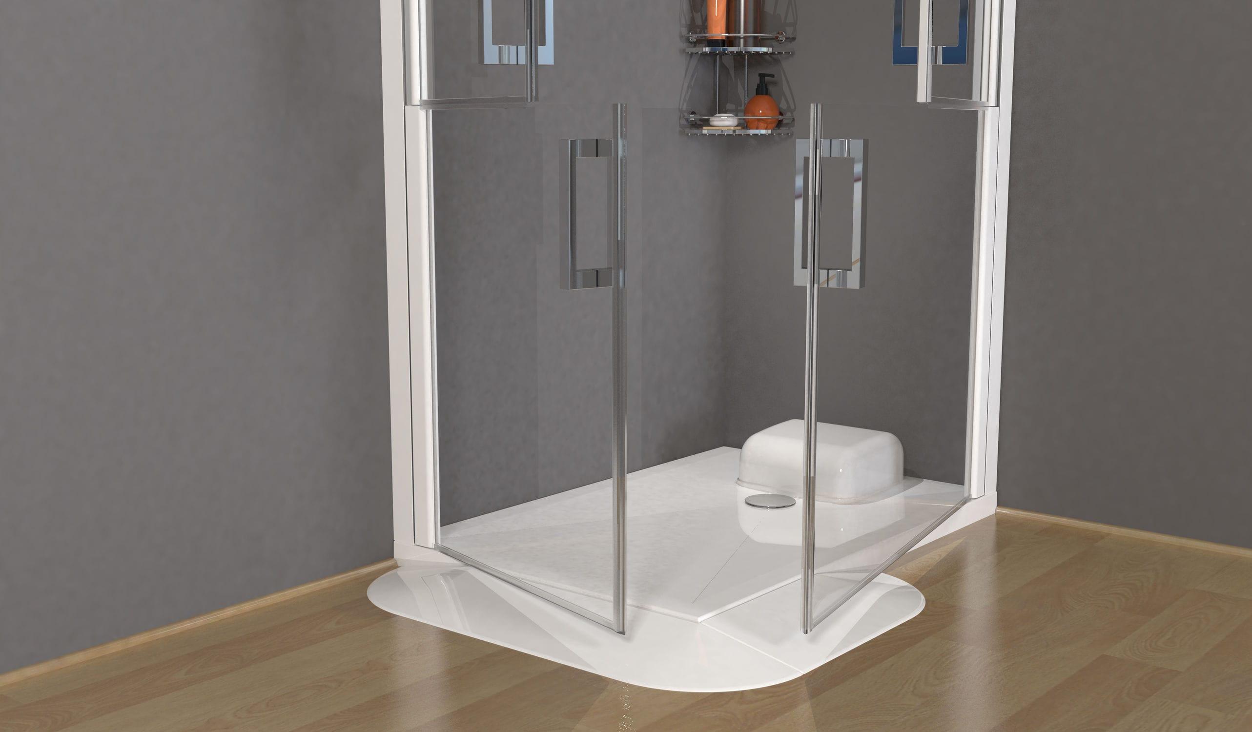 Superbe Square Shower Base / Acrylic ...