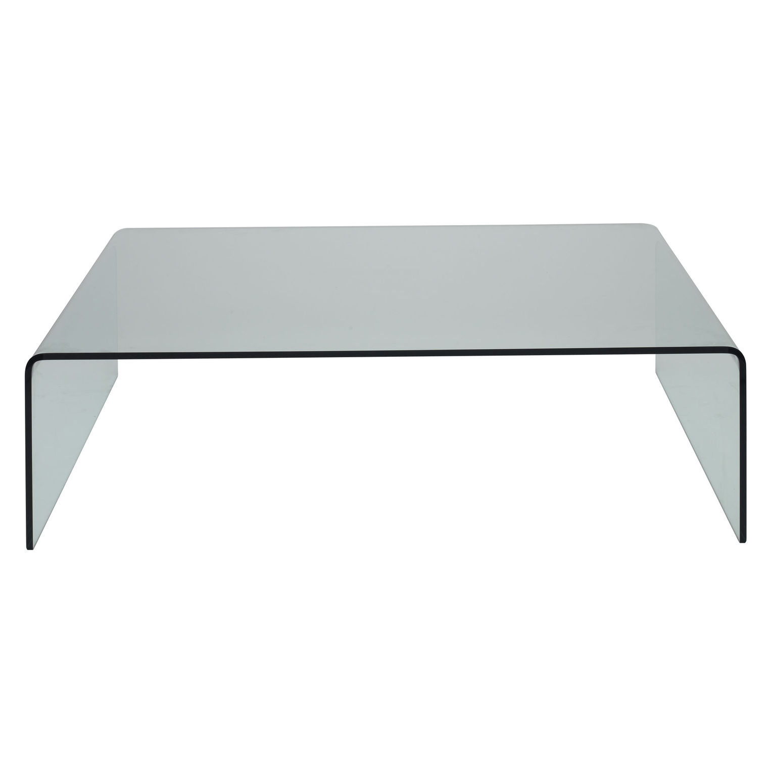 Contemporary coffee table glass oak square TISCH SitLand