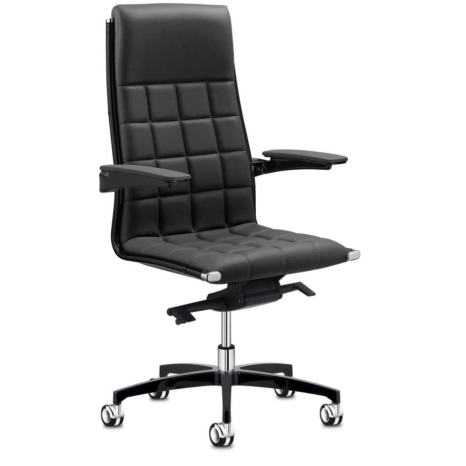 Contemporary executive chair fabric adjustable height