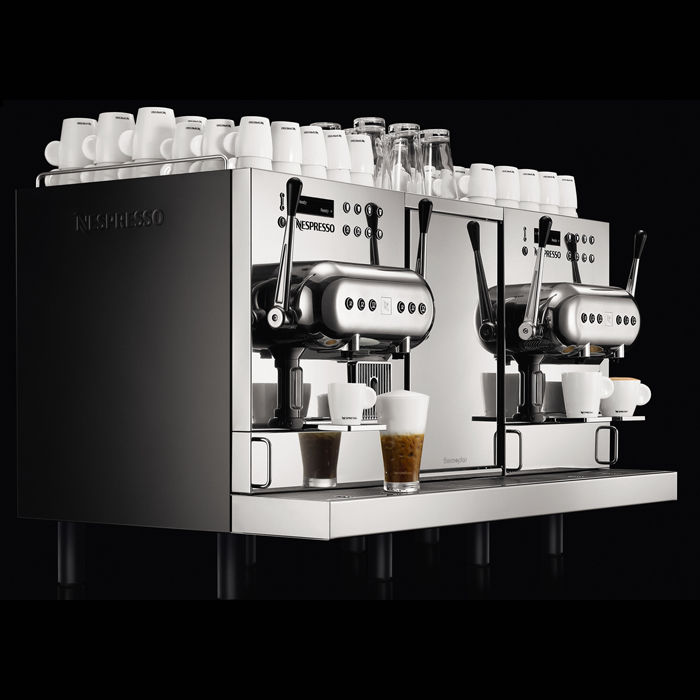 Combined coffee machine / automatic / 2-group / for offices ...