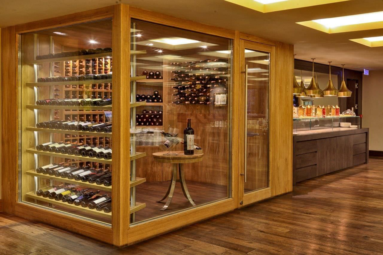 commercial wine cellar / undercounter / glass / wooden - ARMAGGAN HOTEL & Commercial wine cellar / undercounter / glass / wooden - ARMAGGAN ...
