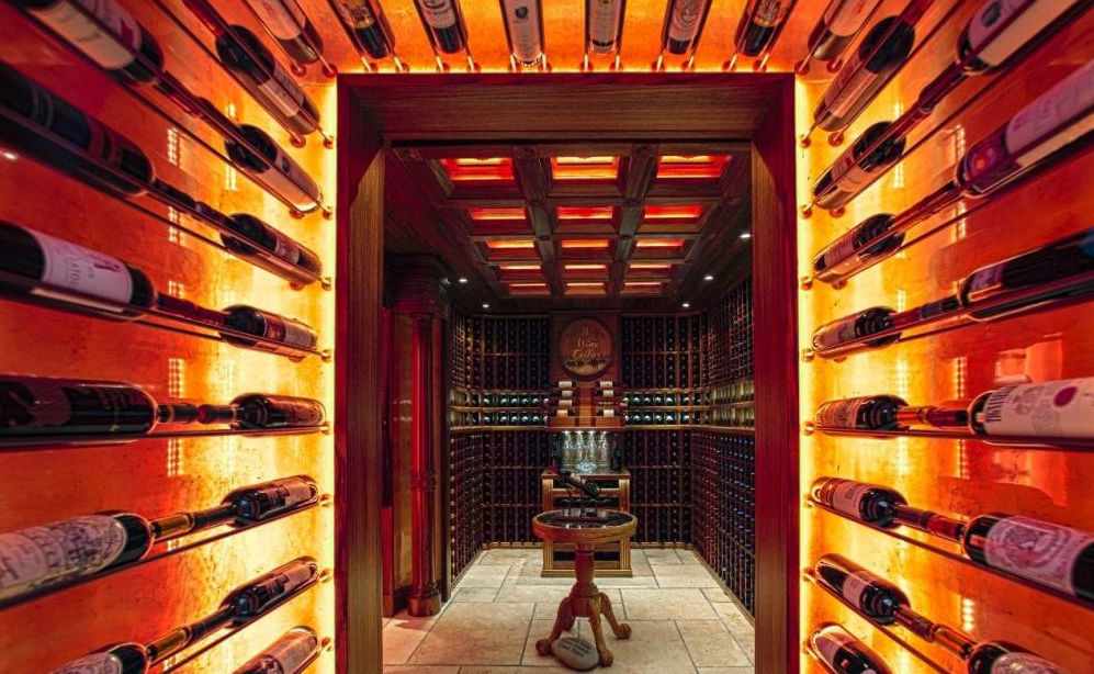 wine room lighting. Residential Wine Cellar Undercounter Wooden Custom PRIVATE CELLAR IN HONG KONG Focus Room Lighting