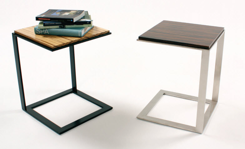 Contemporary Side Table / Wooden / Rectangular   LAL