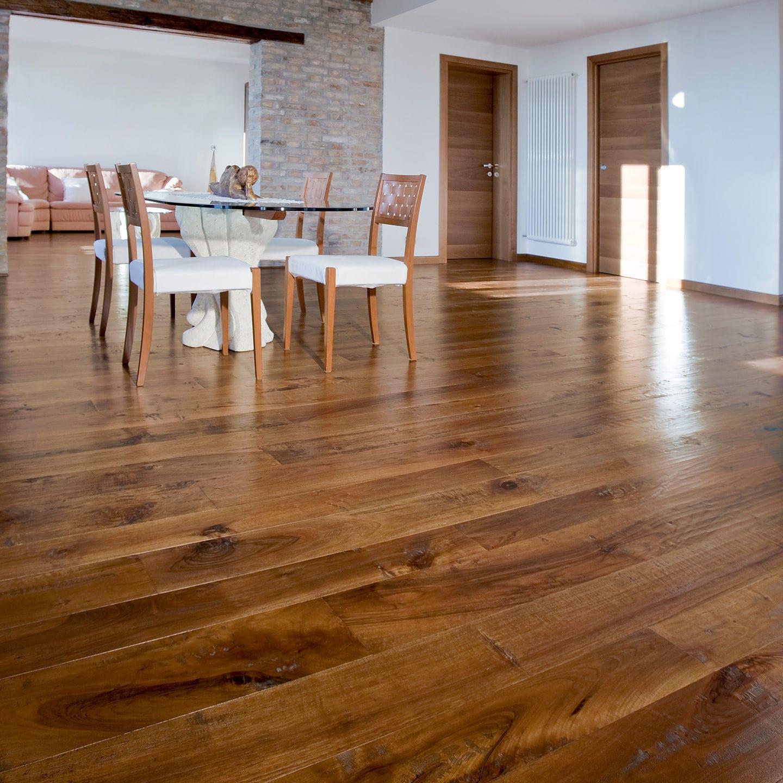 Emois Et Bois walnut parquet floor / engineered / solid / glued - scaro - emois et