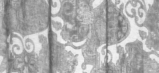 Curtain fabric / patterned / linen - ABERDEEN - MASTRO RAPHAËL