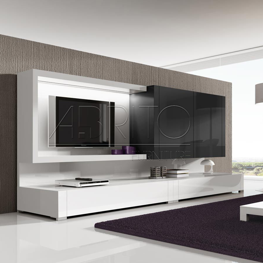 modern living room tv wall units - Furniture Wall Units Designs