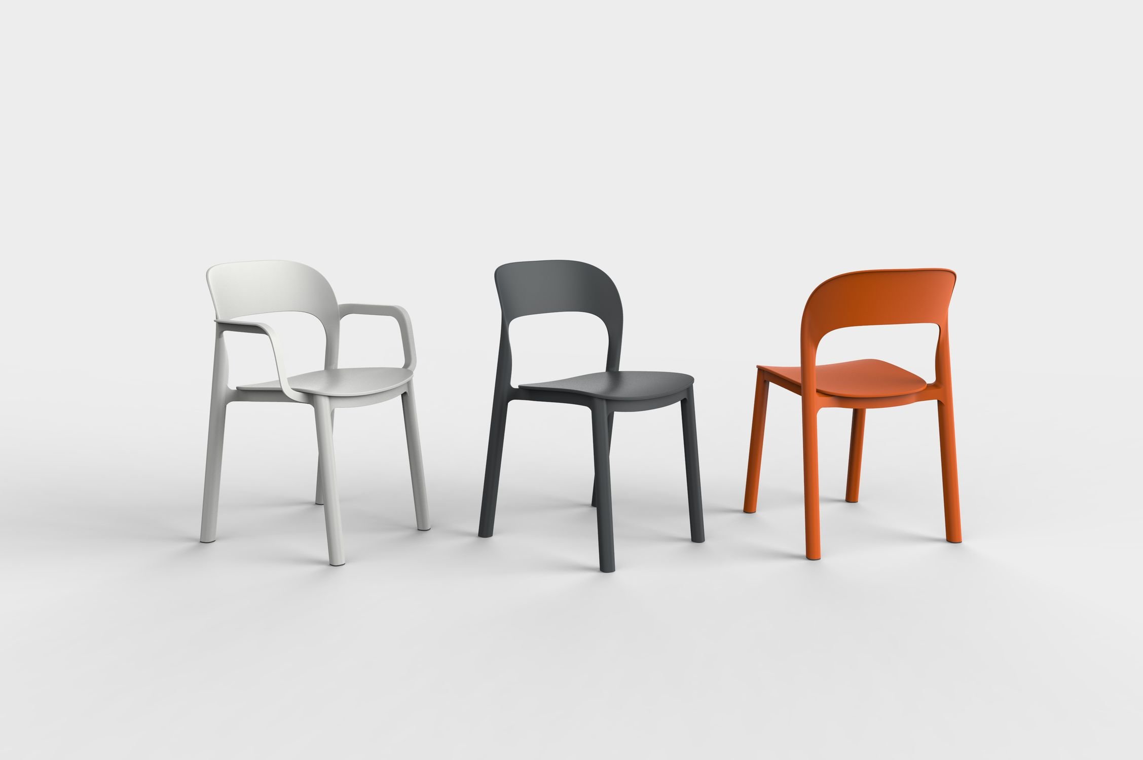 resols skin leg restaurant chair by resol nufurn commercial  contemporary chair plastic commercial stackable ona by contemporary chair plastic commercial stackable ona by david carrasco