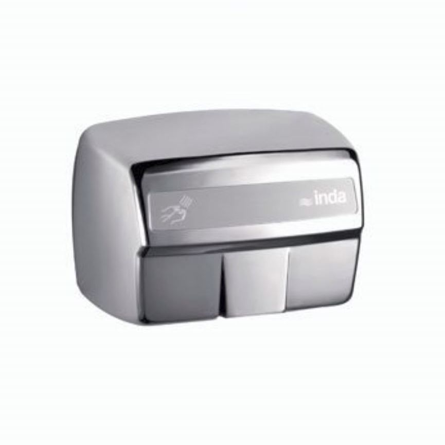Automatic Hand Dryer Wall Mounted Stainless Steel Hotellerie