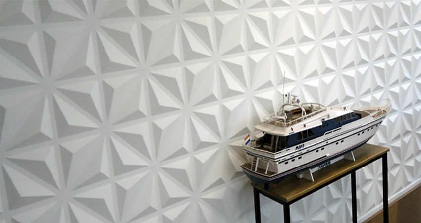 Composite decorative panel wallmounted 3D DIAMOND 3DWalldecor