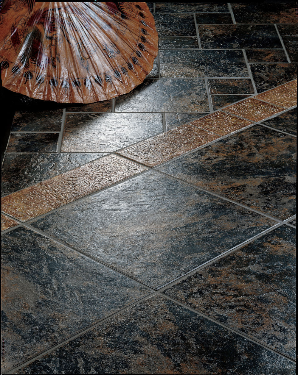 Indoor Tile / Floor / Porcelain Stoneware / Enameled   RUSTIC : ASIA