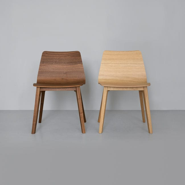 Contemporary Chair / Upholstered / Solid Wood   MORPH PLUS By Formstelle