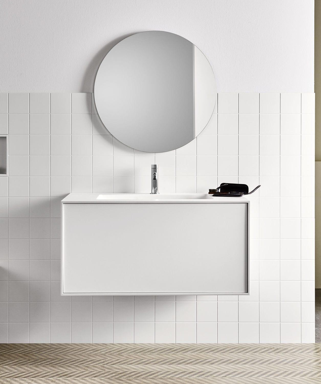 Wall-mounted bathroom mirror / contemporary / round - Filolucido ...