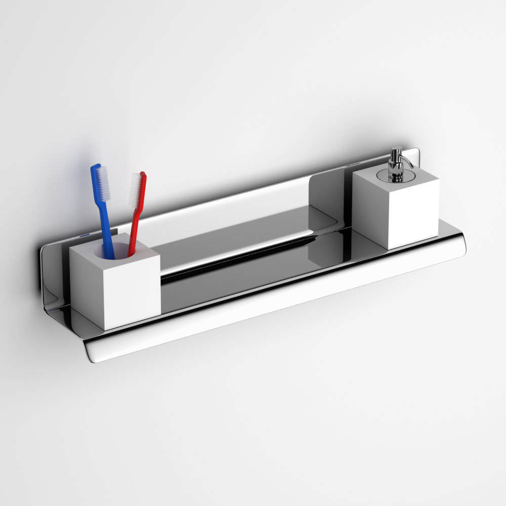 bathroom stainless steel shelves | My Web Value
