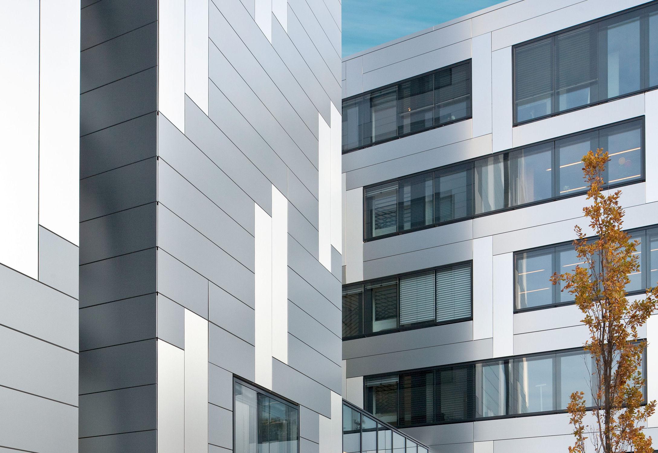 Composite Cladding Brushed Aluminum Brushed Patina - Architectural cladding