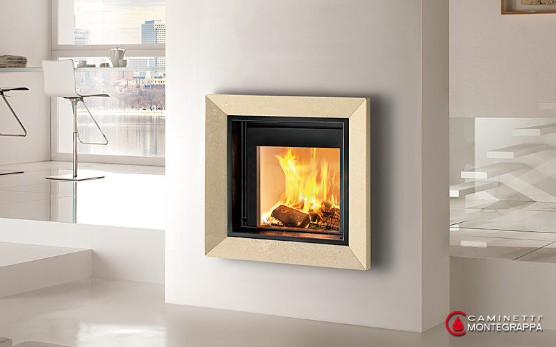 Contemporary fireplace surround / marble - FRAME - Caminetti ...