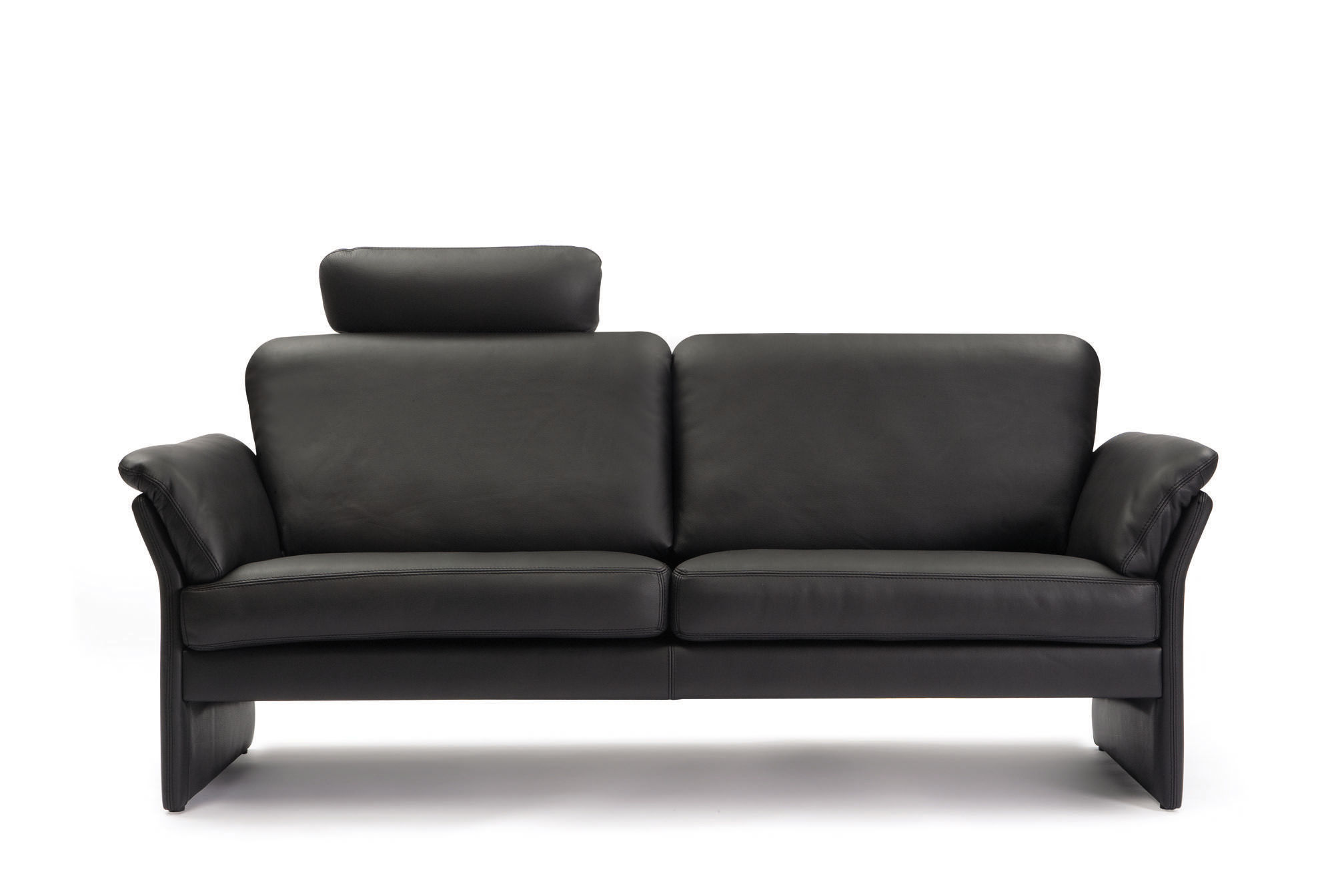 ... Compact Sofa / Contemporary / Leather / 2 Person