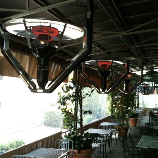 Hanging Infrared Patio Heater / Gas   EVENGLO® GA301H