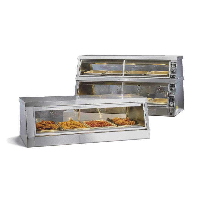 Countertop warmer display case / for shops - CW 114 / CW 216 ...