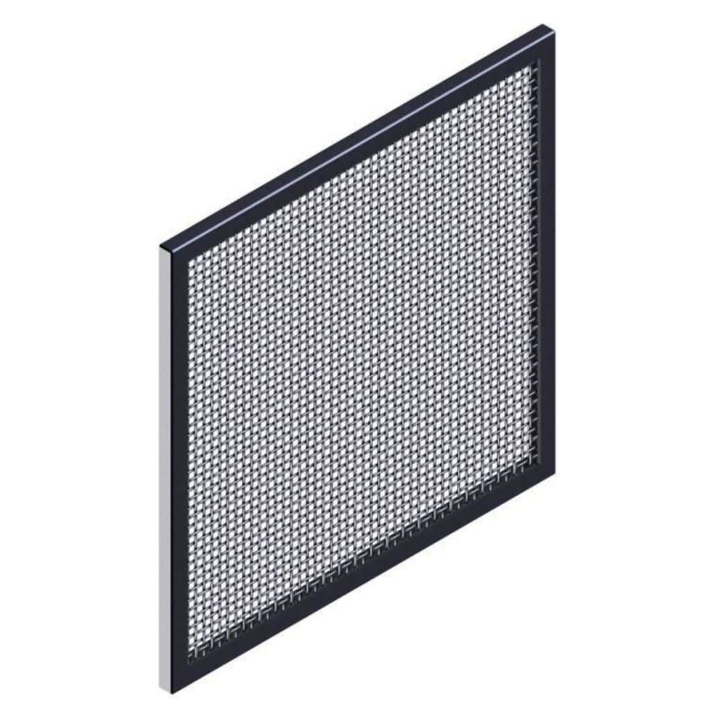 Building woven wire fabric / stainless steel / square mesh - FRAME ...