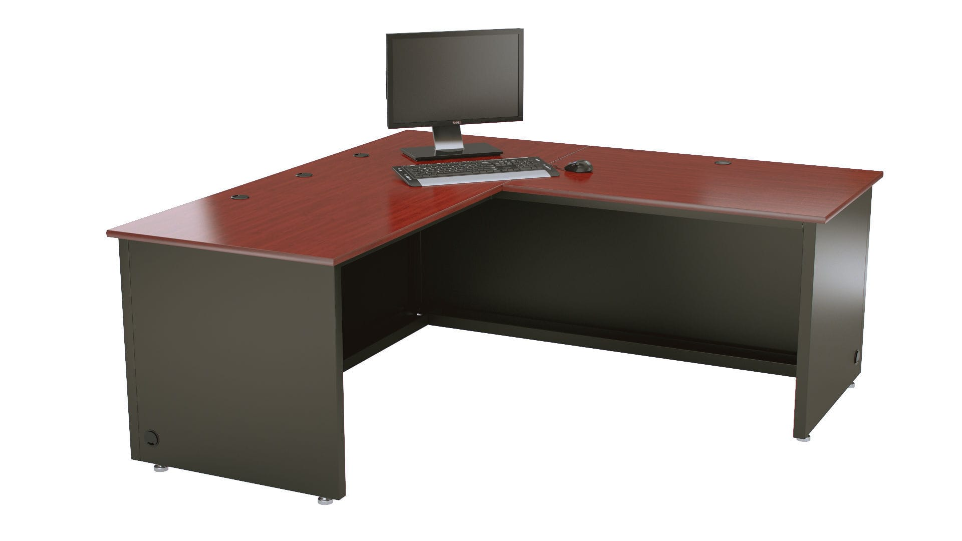 Executive Desk Wooden Laminate Contemporary