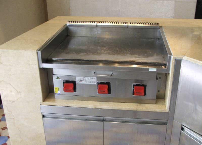Gas grill / built-in / commercial - TEPPANYAKI - Beech Ovens