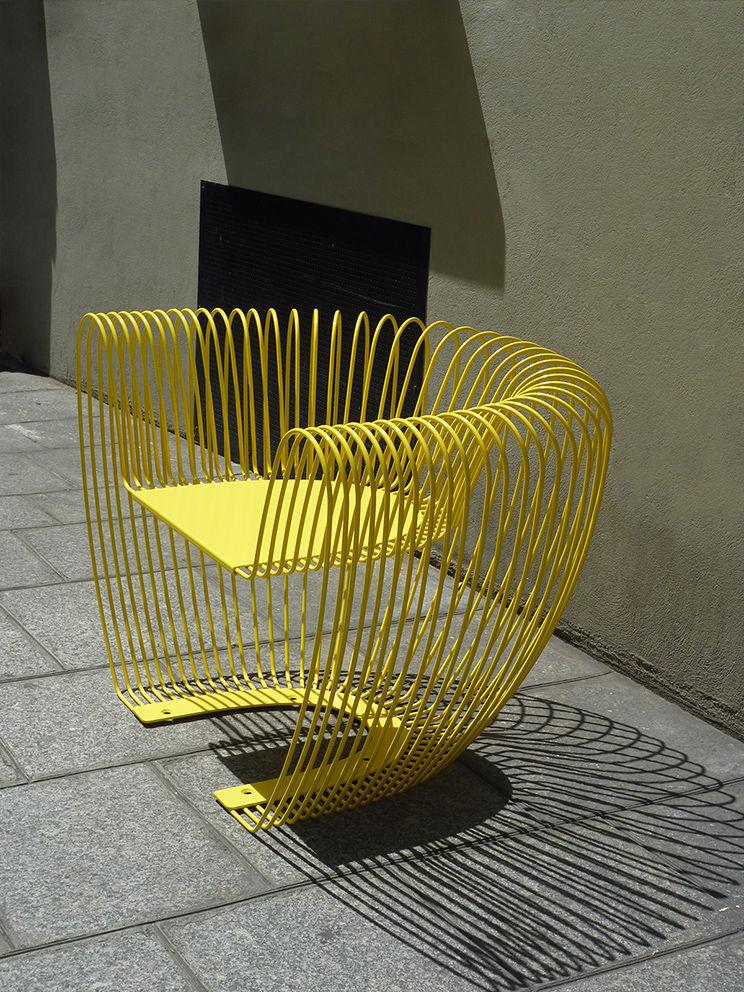 ... Original Design Armchair / Stainless Steel / For Public Areas / Garden  BUBBLE Concept Urbain ...