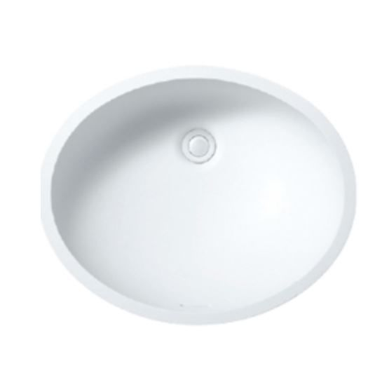 Single Bowl Kitchen Sink / Solid Surface / Oval / Commercial   A3181