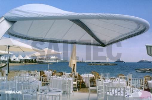 Offset patio umbrella / commercial - ALOÉ - Offset Patio Umbrella / Commercial - ALOÉ - SAILTEC Projekt GmbH