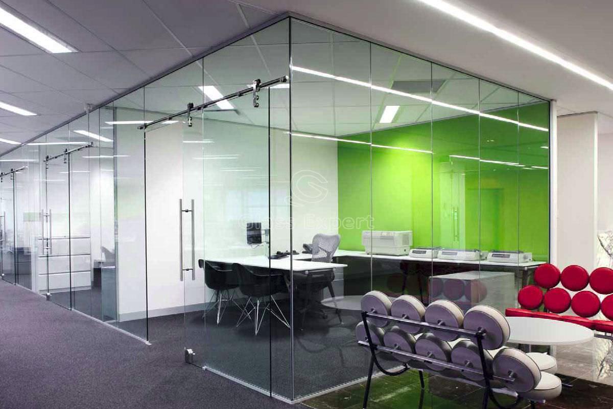 indoor door / sliding / glass / for public buildings - Dorma Manet Sliding & Indoor door / sliding / glass / for public buildings - Dorma Manet ...