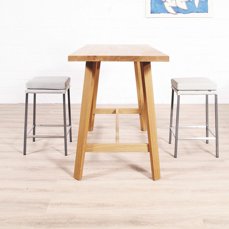Contemporary High Bar Table / Wooden / Solid Wood / Rectangular   MAVERICK  By Brigit Hoffmann