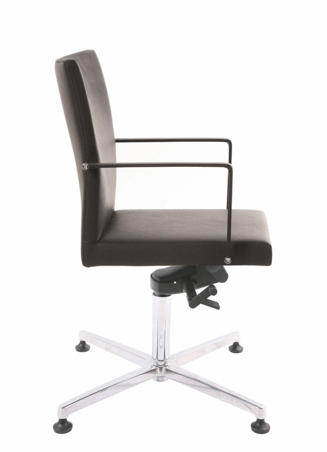 Bürostuhl design rollen  Contemporary office chair / on casters / upholstered / with ...