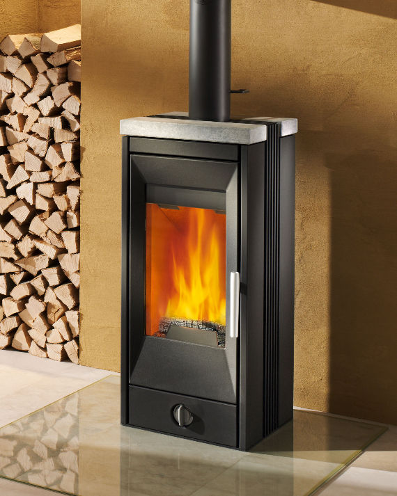 Fuel stove tiles solid