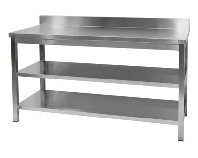 Stainless Steel Countertop Commercial Kitchen Wall Table