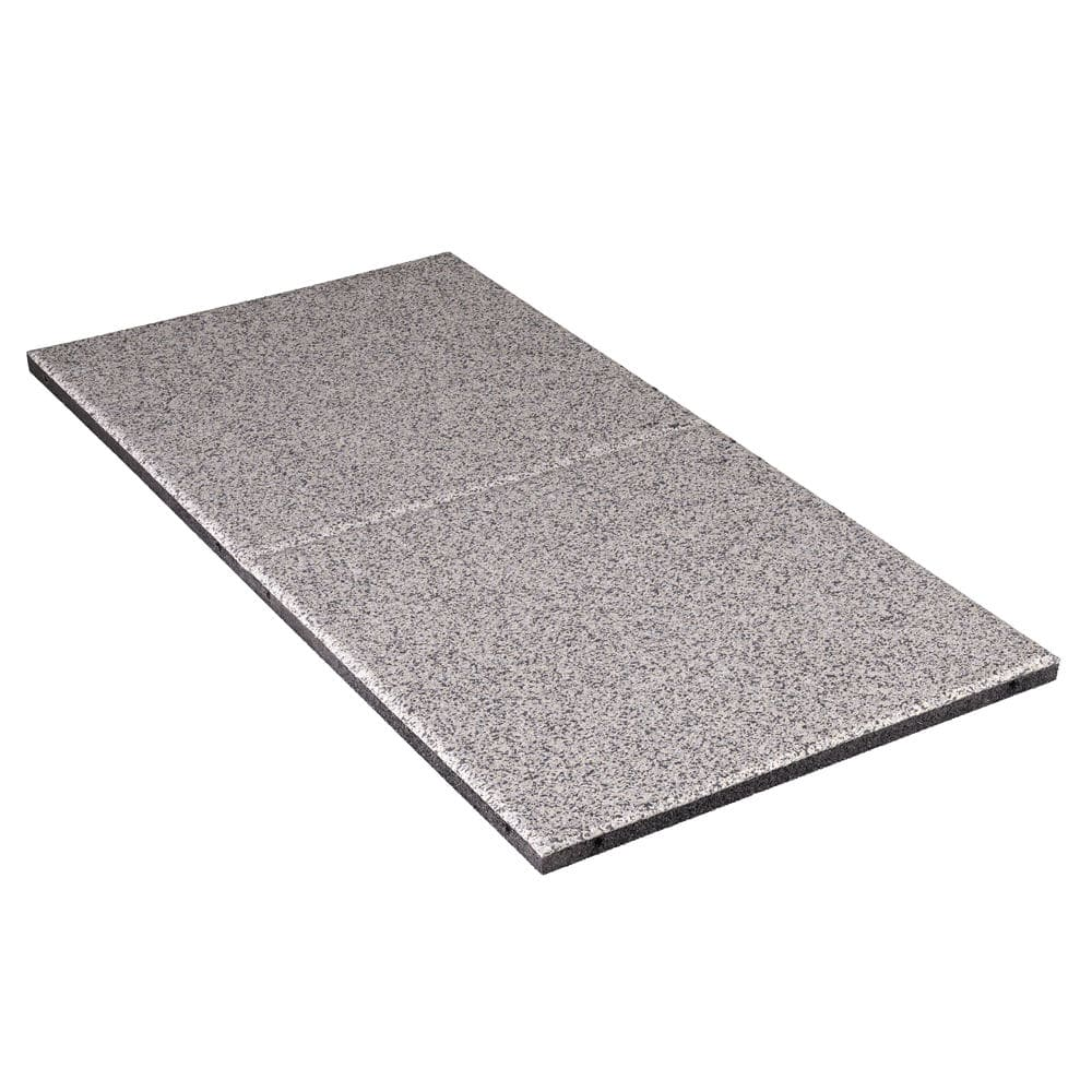 Rubber Flooring For Sports Facilities Textured Tile Look Everroll Multe