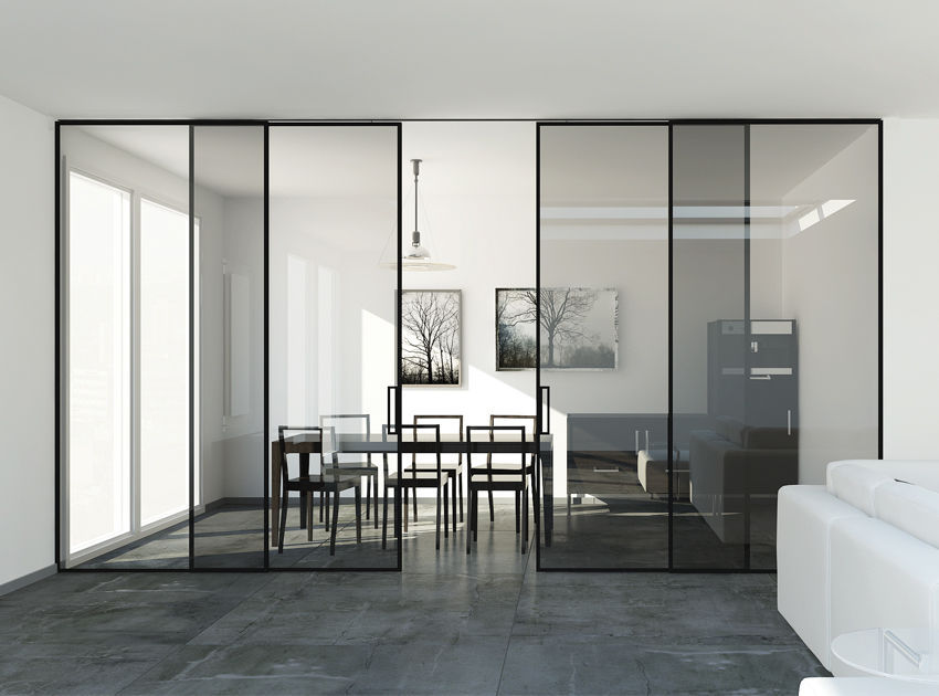 Glass Sliding Door System   INSIDE DUO